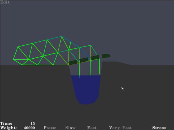 Bridge Building Game Cool Math